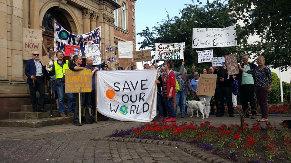 Support for the Eden District Council Climate and Ecological Emergency declaration