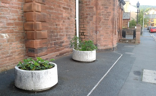 Penrith Police Station tubs