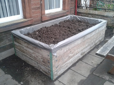 Raised Bed at the Salvation Army