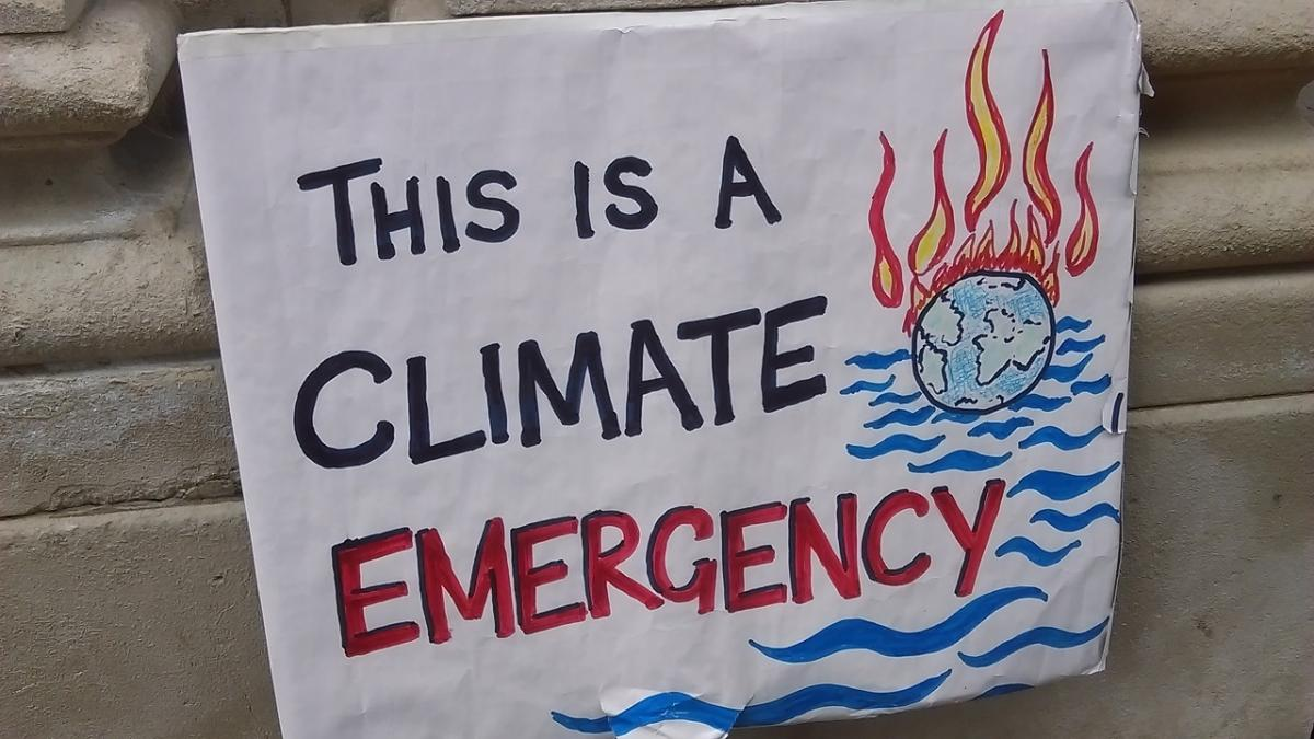 This is a Climate Emergency