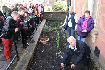 Penrith Town Hall border with Gordon Nicolson