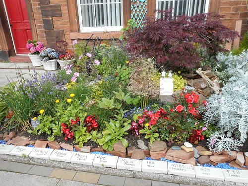 Peace garden at the Salvation Army, Penrith